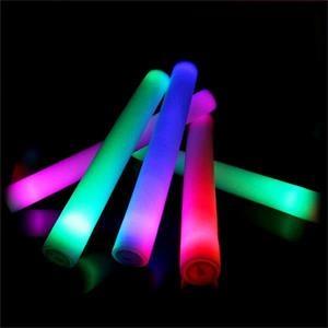 1 Color Light Up Glow Foam Stick