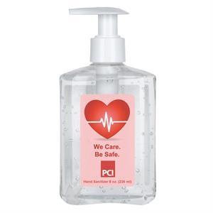 ON SALE! 8 oz. 75% Antibacterial Hand Sanitizer Gel w/Pump