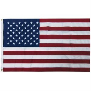 6' x 10' 2-ply Polyester U.S. Flag with Heading and Grommets