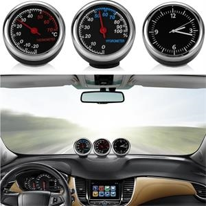 Car Ornament  Clock Watch Thermometer Hygrometer