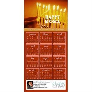 Z-Fold Calendar Greeting Cards W/Imprinted Envelopes