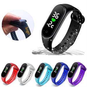 Body Temperature Monitor Wristband Watch