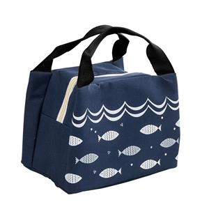 Insulated Lunch Bag With Zipper