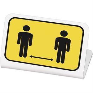 Economy Plastic Signs: 1-10 sq. in.
