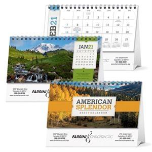 American Splendor Desk 2022 Calendar