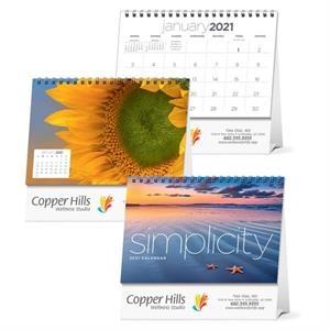 Simplicity Large Desk 2022 Calendar