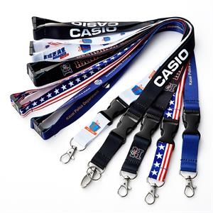 Safety Breakaway Lanyards, Sublimated Lanyard Quick Release