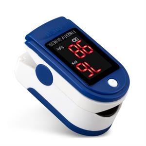 Fingertip Oximeter Blood Oxygen Saturation Monitor-Blue