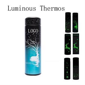 Creative Luminous Design Christmas Thermos