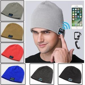New  Men's Style Bluetooth  Hat