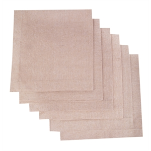 ATMOS GREEN RECYCLED COTTON NAPKINS - SAND