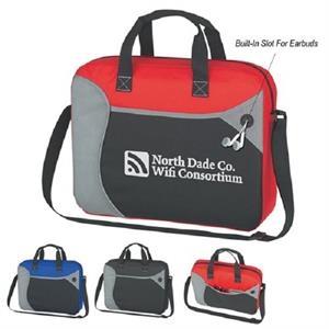 Wave Non-Woven Briefcase/Messenger Bag