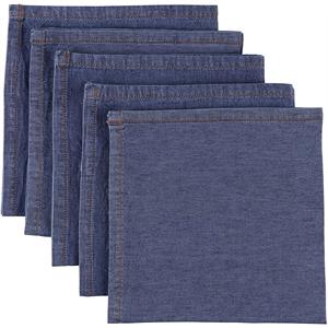 Atmos Green Denim Cotton Napkins - LIGHT BLUE