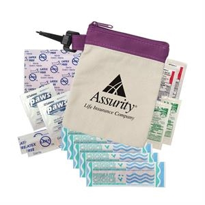 Clip-It Canvas First Aid Kit