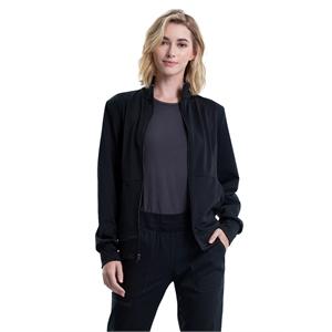 Cherokee Workwear Revolution Women's Zip Front Knit Jacket