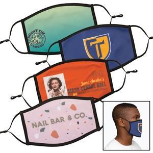 ON SALE! Full Color Dye Sublimation Face Mask - Large / XL