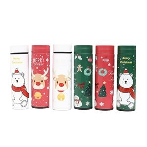 16oz Stainless Steel Christmas Thermos