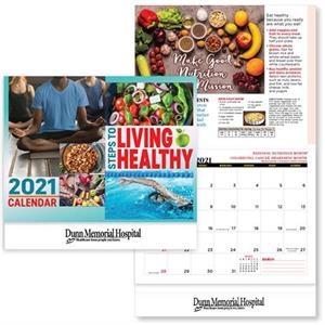 Steps To Living Healthy 2021 Wall Calendar