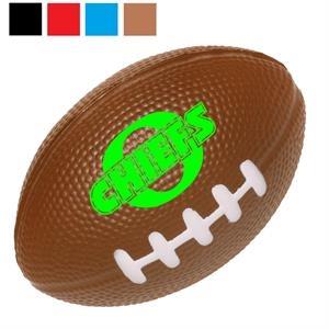Football Stress Ball w/ Custom Logo PU Stress Reliever