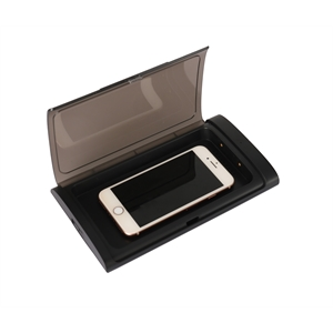 UVC Germ Safe Phone Sterilizer Case w/5W Wireless Charger
