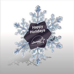 Acrylic snowflake Ornament