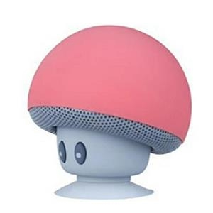 Wireless cute Portable Home Mushroom Bluetooth Car Speaker
