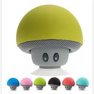 Mini bluetooth wireless mushroom speakers