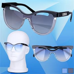 Fashion Sunglasses w/ Hollow Lens