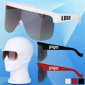 Half Frame Classic Sunglasses