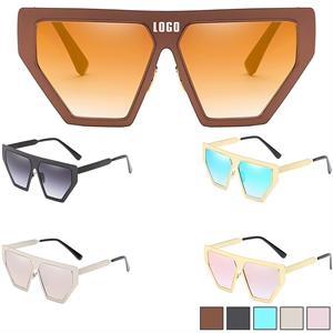Full Frame Sunglasses w/ Colorful Lens