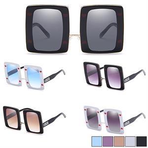 Full Frame Sunglasses w/ Rectangle Lens