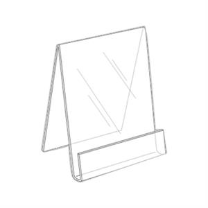 """8.5\""""w x 11\""""h Easel Literature Holder"""