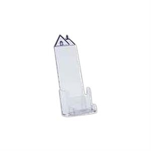 Roof Top Tri-Fold brochure holder with Business Card Pocket