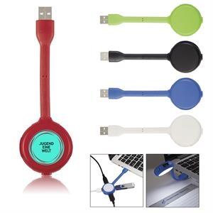 Aluminium USB Ports with Bright White Light Combo