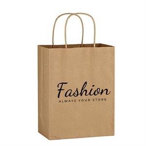 "8"" x 10-1/4"" Kraft Paper Bag"
