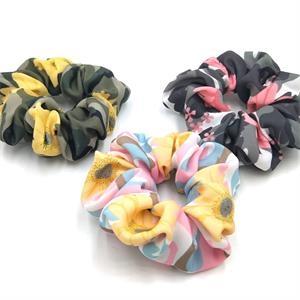 Printed Camouflage Hair Tie Fashion Hair Tie