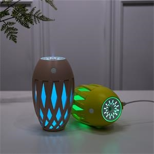 Olive Shape Humidifier with LED Colorful Light