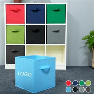 Non-woven Foldable Storage Box without Lid