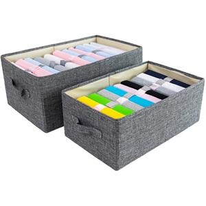 Linen Clothing/Books/Toys Storage Box w/without Lid