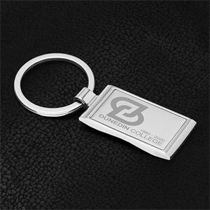 GEO Economy Laser Engraved Metal Keyholder