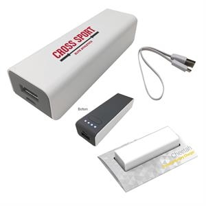 Compact Back-Up Power Bank Charger