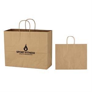 "16"" x 12- 1/2"" Kraft Paper Bag"