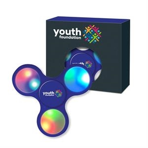 Fun Spinner with LED light and Window Gift Box