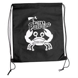 WANDERLUST Non-Woven Drawstring Backpacks