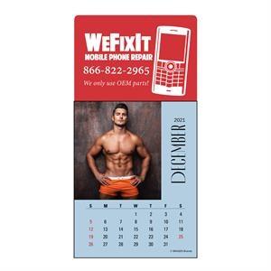 Magna-Stick™ Header Male Call Calendar (13-Month)