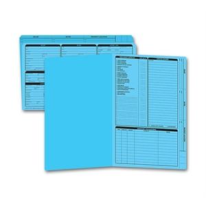 Legal size real estate folder