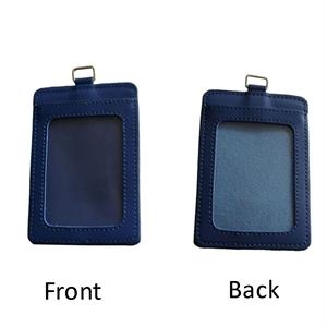 Card Holder with 2 Clear Windows