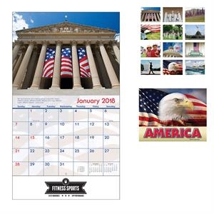 2021 American Pride Stapled Wall Calendar