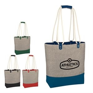 Heathered Day-To-Day Tote