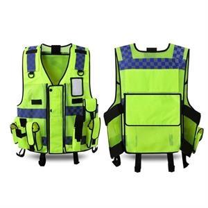 Reflective Safety Vest High Visibility Adjustable Tactical